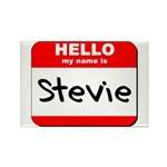 Hello my name is Stevie Rectangle Magnet (10 pack)