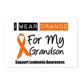 Leukemia I Wear Orange Postcards (Package of 8)