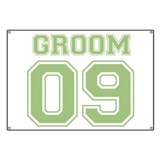 Groom 09 (Green) Banner