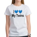I Love My Twins Women's T-Shirt