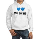 I Love My Twins Hooded Sweatshirt