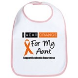 I Wear Orange For My Aunt Bib