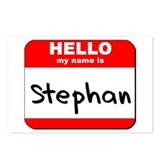 Hello my name is Stephan Postcards (Package of 8)