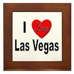I Love Las Vegas Framed Tile