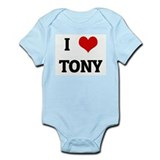 I Love TONY Onesie