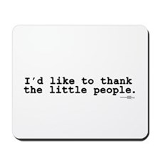 little people Mousepad