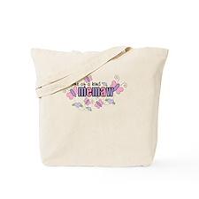 One Of A Kind Memaw Tote Bag