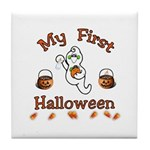 Baby's First Halloween Tile Coaster