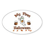 Baby's First Halloween Sticker (Oval 10 pk)