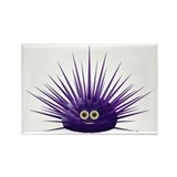 Purple Sea Urchin Rectangle Magnet