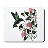 Garden Hummingbird Mousepad