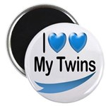 I Love My Twins Magnet