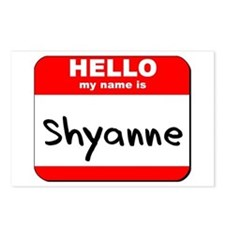 Hello my name is Shyanne Postcards (Package of 8)