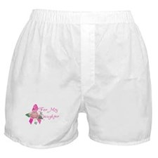 Breast Cancer Support Daughter Boxer Shorts