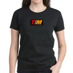 TIM Women's Black T-Shirt