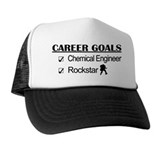 Chemical Engineer Career Goals Rockstar Trucker Hat