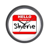 Hello my name is Sherie Wall Clock