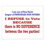 No VOTE #2 Small Poster