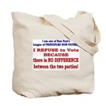 No VOTE #2 Tote Bag