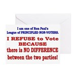 No VOTE #2 Greeting Cards (Pk of 20)