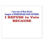 NO VOTE #1 Small Poster