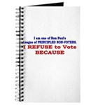 NO VOTE #1 Journal