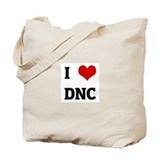 I Love DNC Tote Bag