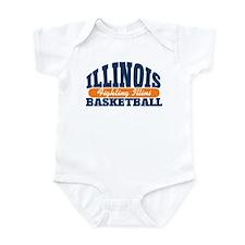 Fighting Illini Basketball Infant Bodysuit