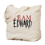 Team Edward Tote Bag