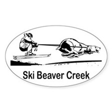 Ski Beaver Creek CO Oval Decal