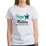 Hope Matters Cervical Cancer Tee