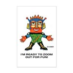ZOOMER! Let's Play! Mini Poster Print