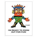 ZOOMER! Let's Play! Small Poster