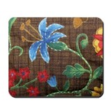Trudy's Blue Flower Mousepad