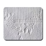 Whitework grapes Mousepad