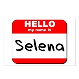 Hello my name is Selena Postcards (Package of 8)