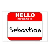 Hello my name is Sebastian Postcards (Package of 8
