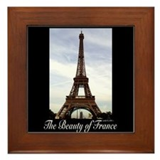 Eifel Tower Framed Tile