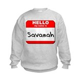 Hello my name is Savanah Jumpers