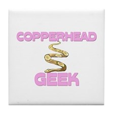 Copperhead Geek Tile Coaster