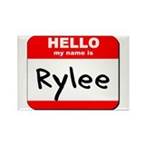 Hello my name is Rylee Rectangle Magnet (10 pack)