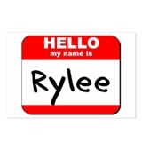 Hello my name is Rylee Postcards (Package of 8)