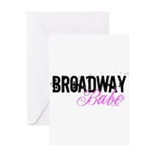 Broadway Babe Greeting Card