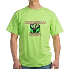 Cnidarian Geek Green T-Shirt