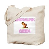 Chipmunk Geek Tote Bag