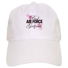Proud Air Force Girlfriend Baseball Cap