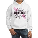 Proud Air Force Girlfriend Jumper Hoody