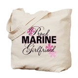 Proud Marine Girlfriend Tote Bag
