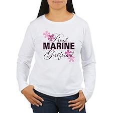 Proud Marine Girlfriend T-Shirt