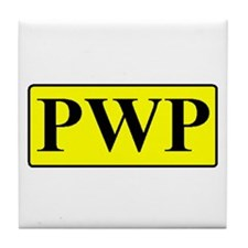 PWP Tile Coaster